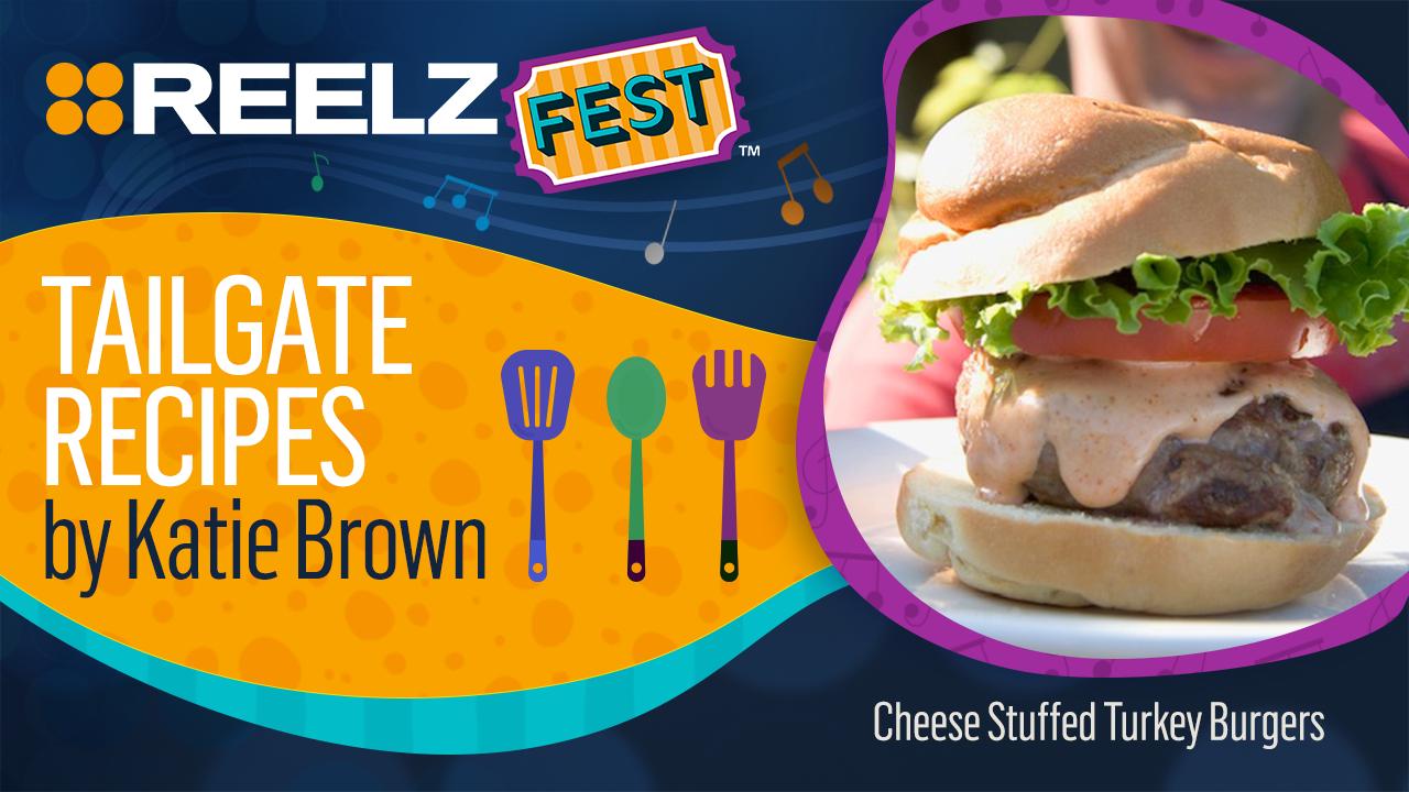 REELZ Fest™ Cheese-Stuffed Turkey Burgers Recipe