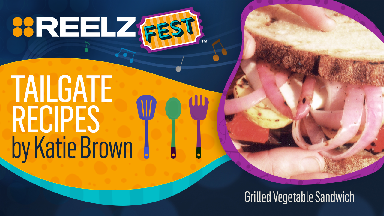 REELZFest™ Grilled Vegetable Sandwich with Pesto Mayo Recipe